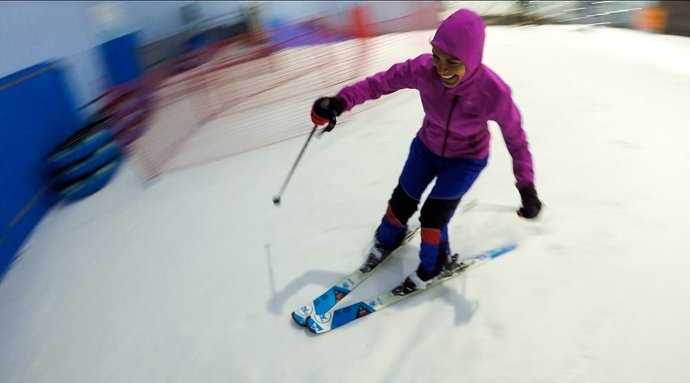 Ski Dubai, EAU. © Matthieu Courtois.