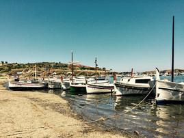 Petit port de Cadaquès, Espagne.