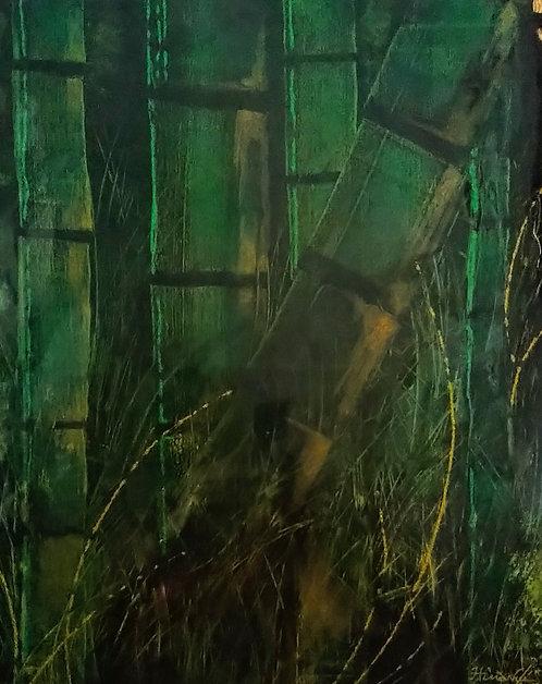 """Black bamboo"", 2017"