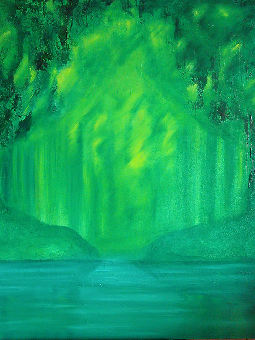 """""""Into the wild green"""", 2006"""