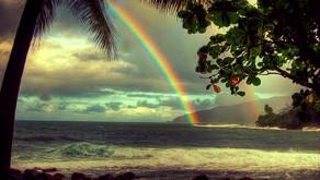 Tahiti, sous la pluie...