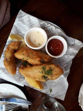 Incontournable Fish & chips au Belgian Café
