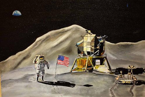Mission lunaire apollo 15 Monts Hadley,2019