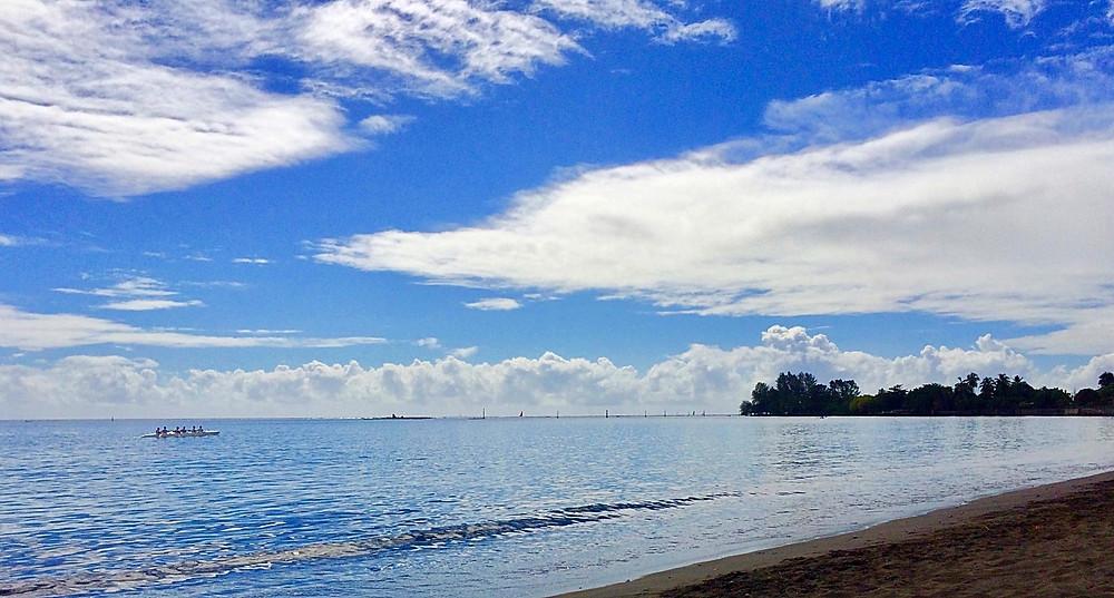 Plage du Taaone...Pirae, Tahiti