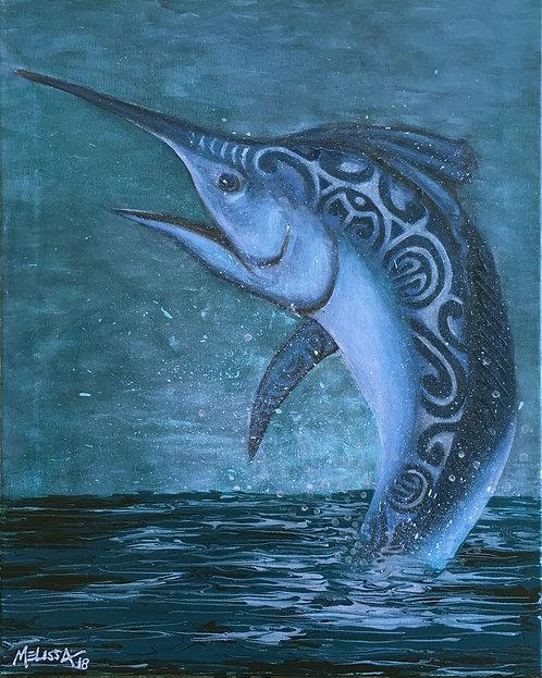 Blue sea life