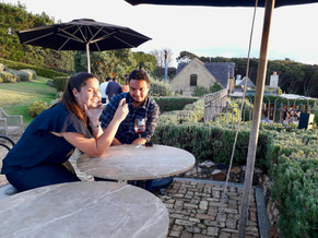 Mudbrick Restaurant to take beautiful pictures also ©Taina CALISSI
