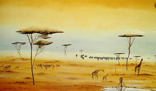 """La Fresque Africaine"", 1996"