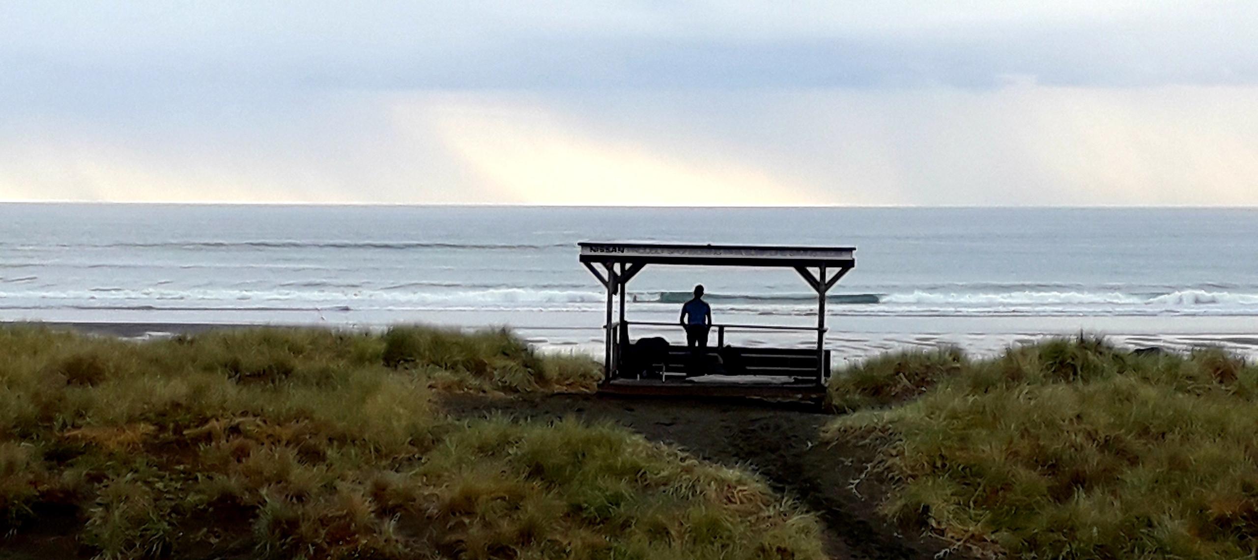 Staring at the sea. ©Taina CALISSI