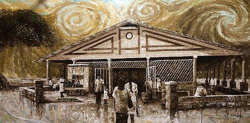 Le marché de Uturoa