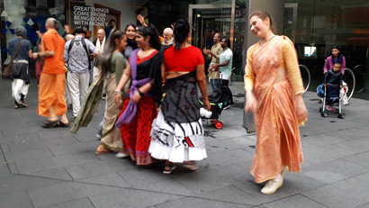 Street of Auckland, afternoon  ©Taina CALISSI