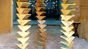 Escale artistique à Castellò d'Empuries.