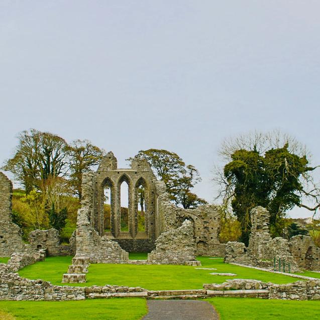 Inch Abbey, Irlande.