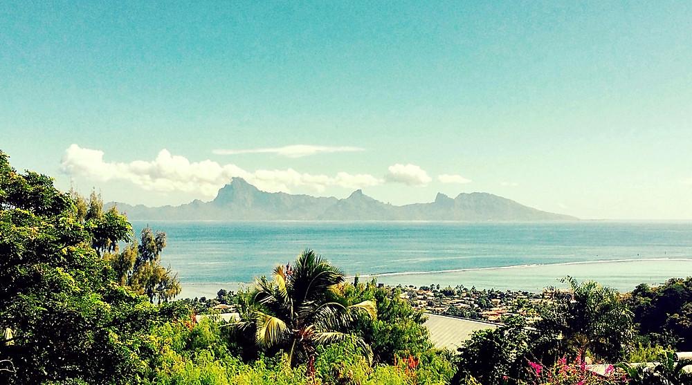 Moorea vue de Tahiti...