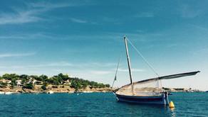 Bleu méditerranée...