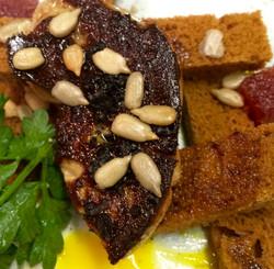 Foie gras a la plancha...