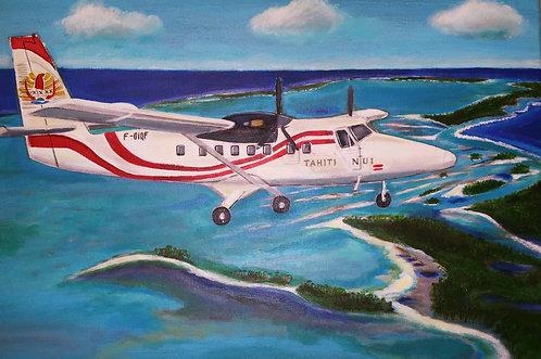 Beech 200 Air Archipels Tetiaroa