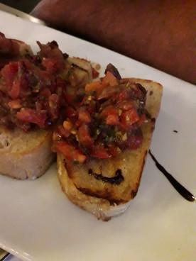 Crostini du Lakeland house Restaurant