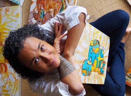 Miriama Bono, à la croisée des Arts.