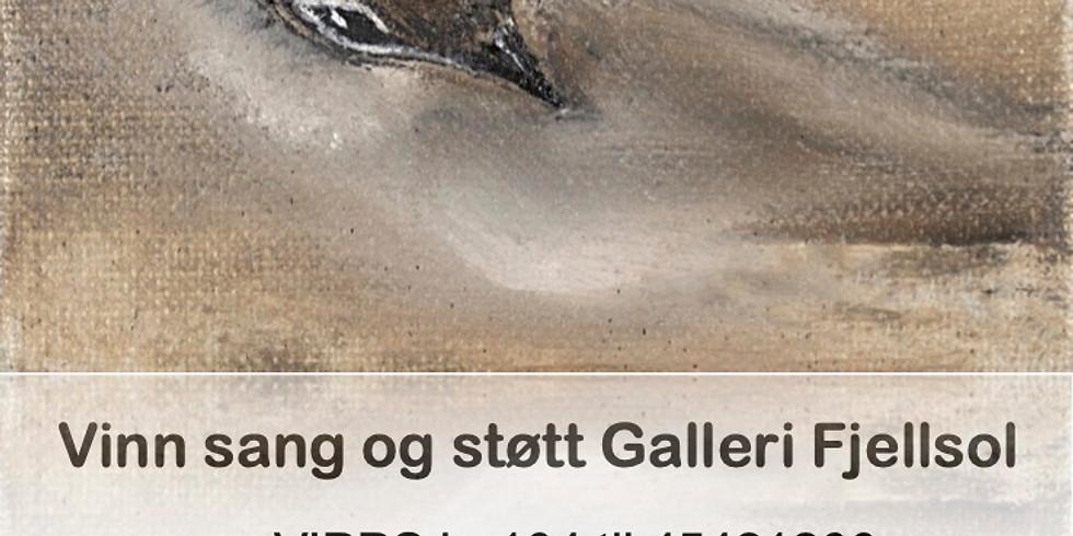 Støtt galleriet og vinn Sangeren