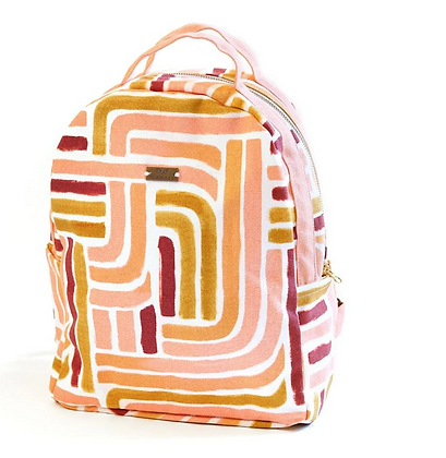 Mini Backpack Sunset Stripe