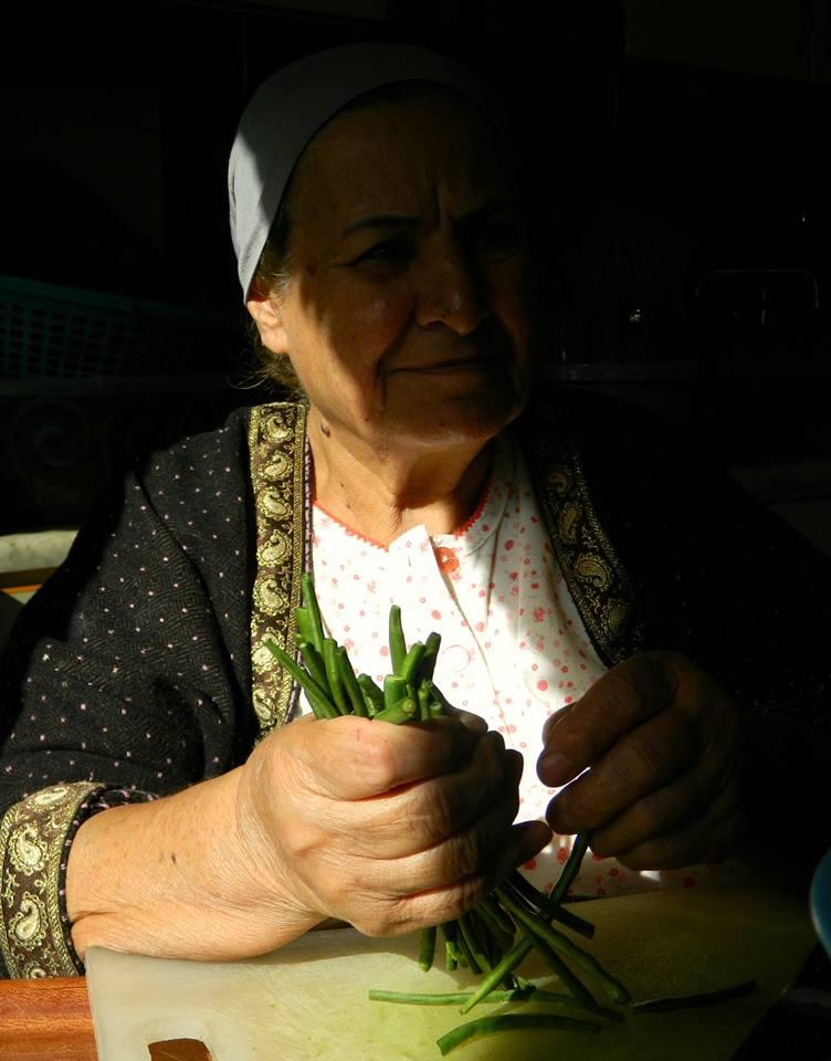 Woman in Damascus