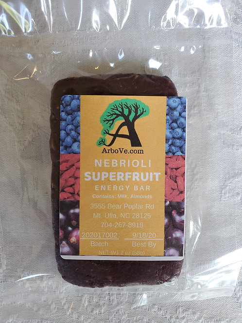 Nebrioli Superfruit Energy Bar