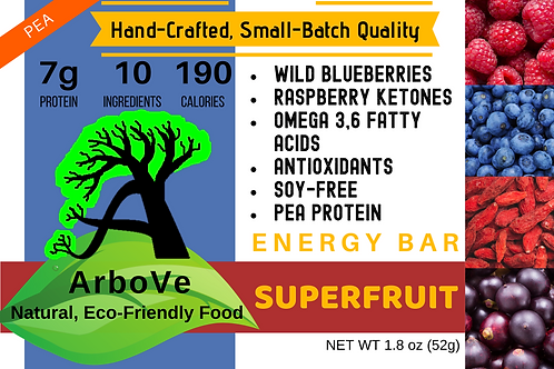 Superfruit Energy Bar Pea Protein