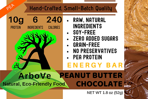 Peanut Butter Chocolate Energy Bar Pea Protein