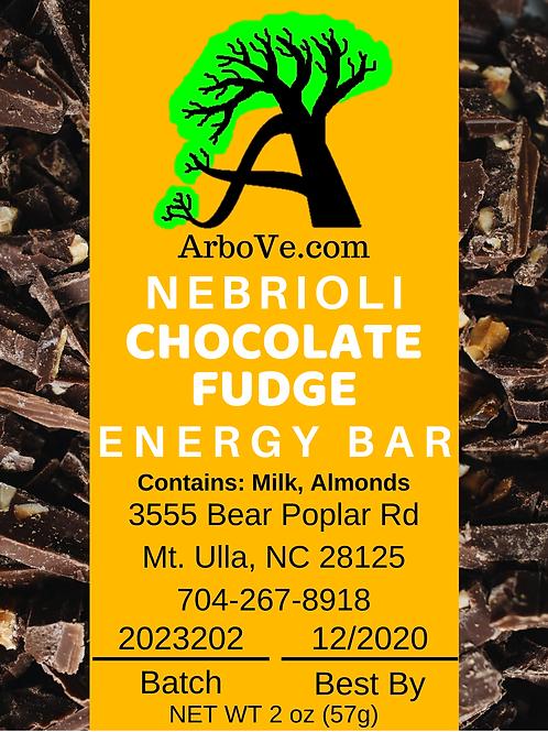 Nebrioli Chocolate Fudge Energy Bar