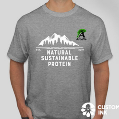 Natural Sustainable Protein Tee