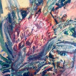 Protea in the Rust
