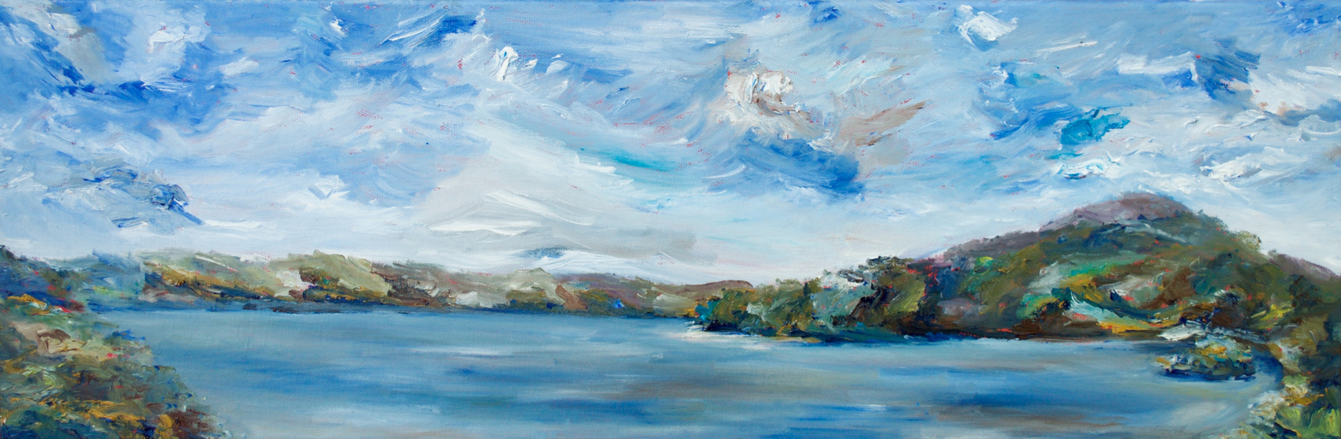 Jen Mitchell, Spring at the inlet