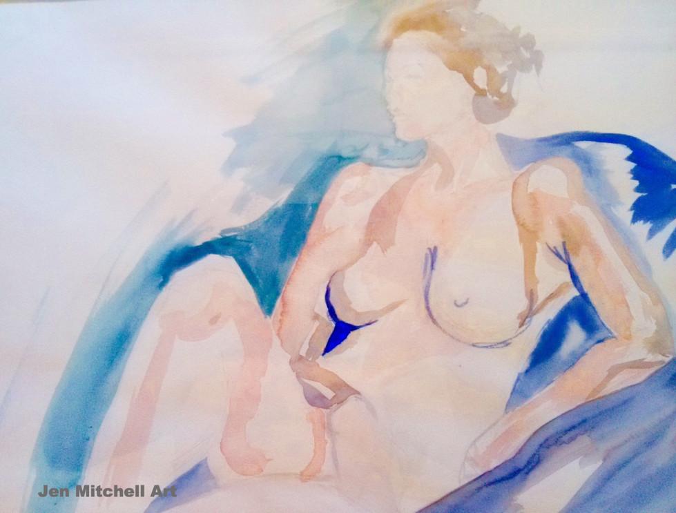 Jen Mitchell, Woman