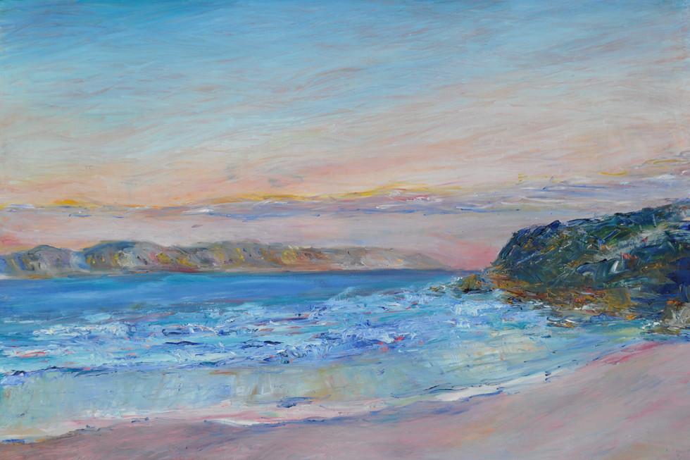 Jen Mitchell, Sunset at Ocean Beach