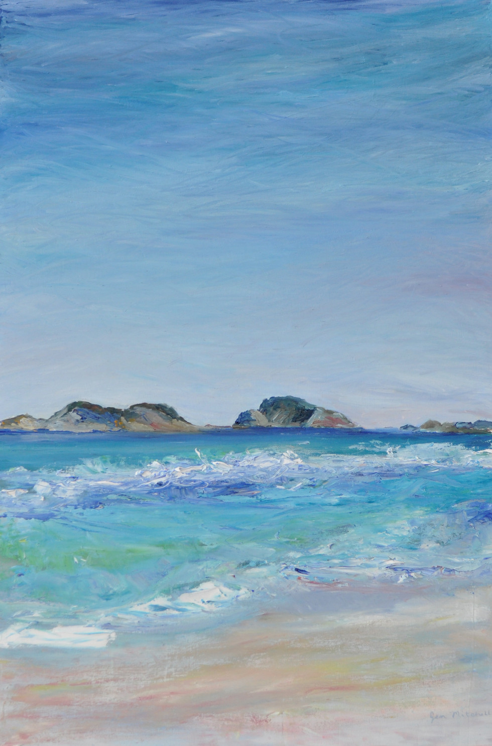 Jen Mitchell, Lucky Bay