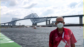 GREG SMITH – Rowing NSW BRO Officiates at Tokyo Olympics