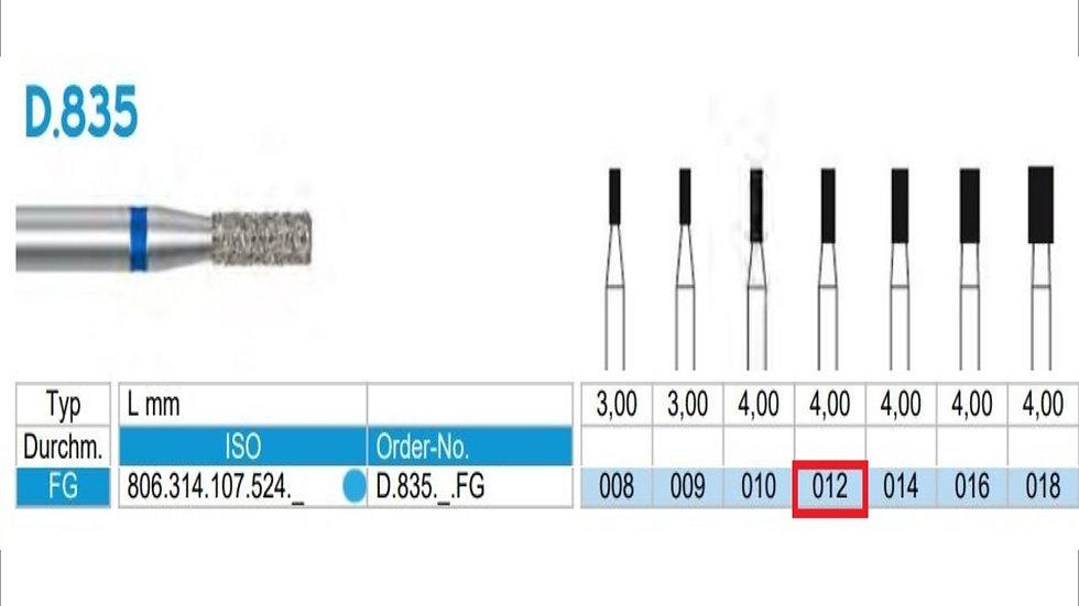 DIAMOND BURS FG (X5)          806 314 107 524 012  ( FRANK DENTAL / GERMANY)