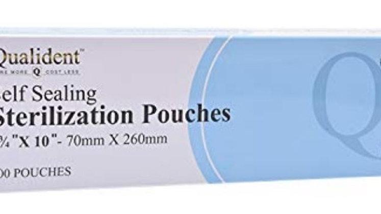 "Self Sealing Sterilization Pouch 2.75"" x 10"" = 70MM x 260MM"