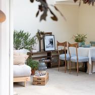 Návrh interiéru zimní zahrady