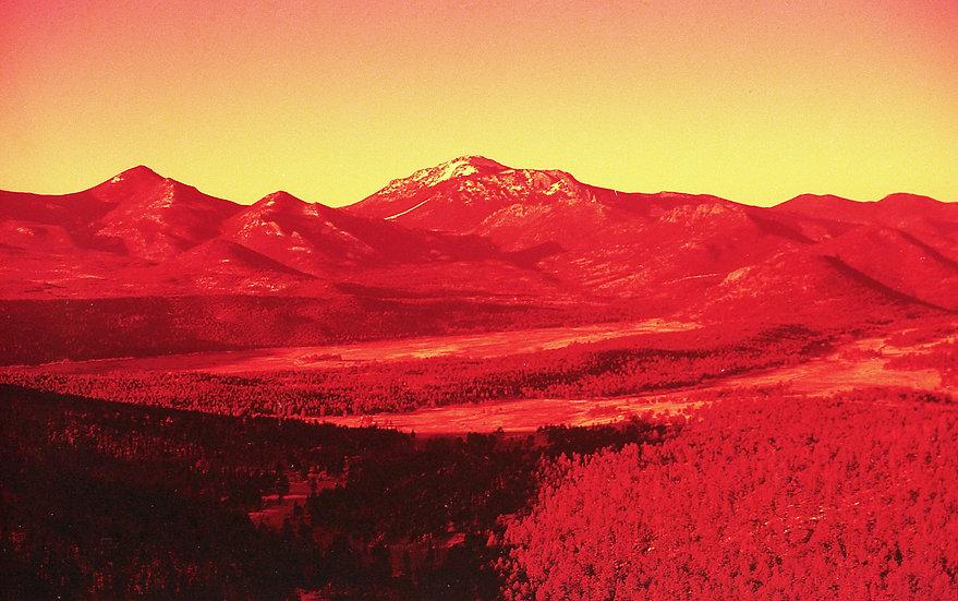 Red Rockies Postcard