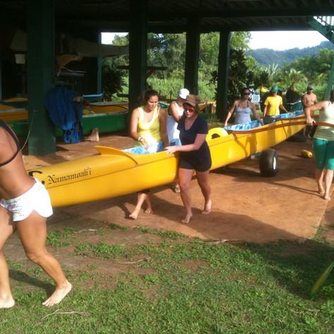 Even on a Canoe, Kauai