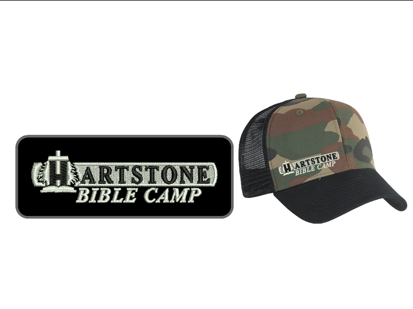 Old Camo Curve w_ Mesh Trucker Hat