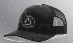 New HBC Black Camo Trucker Hat