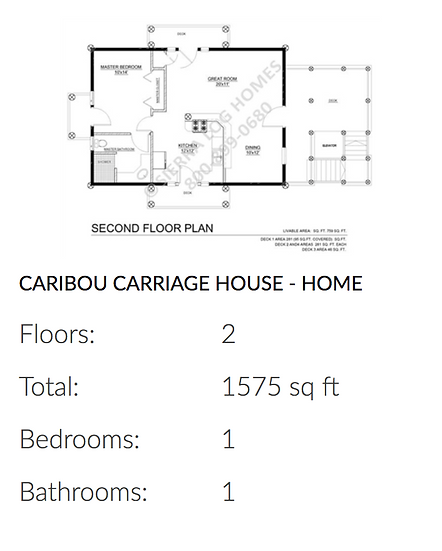 Caribou Carriage House - Home
