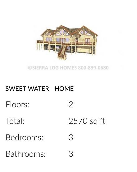 Sweet Water - Home