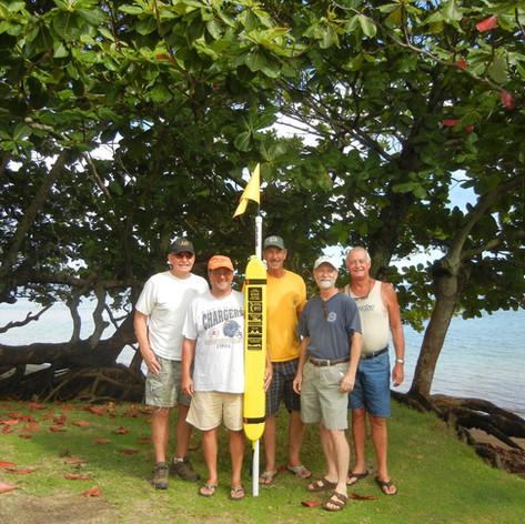 Kauai North Shore Lions first installation