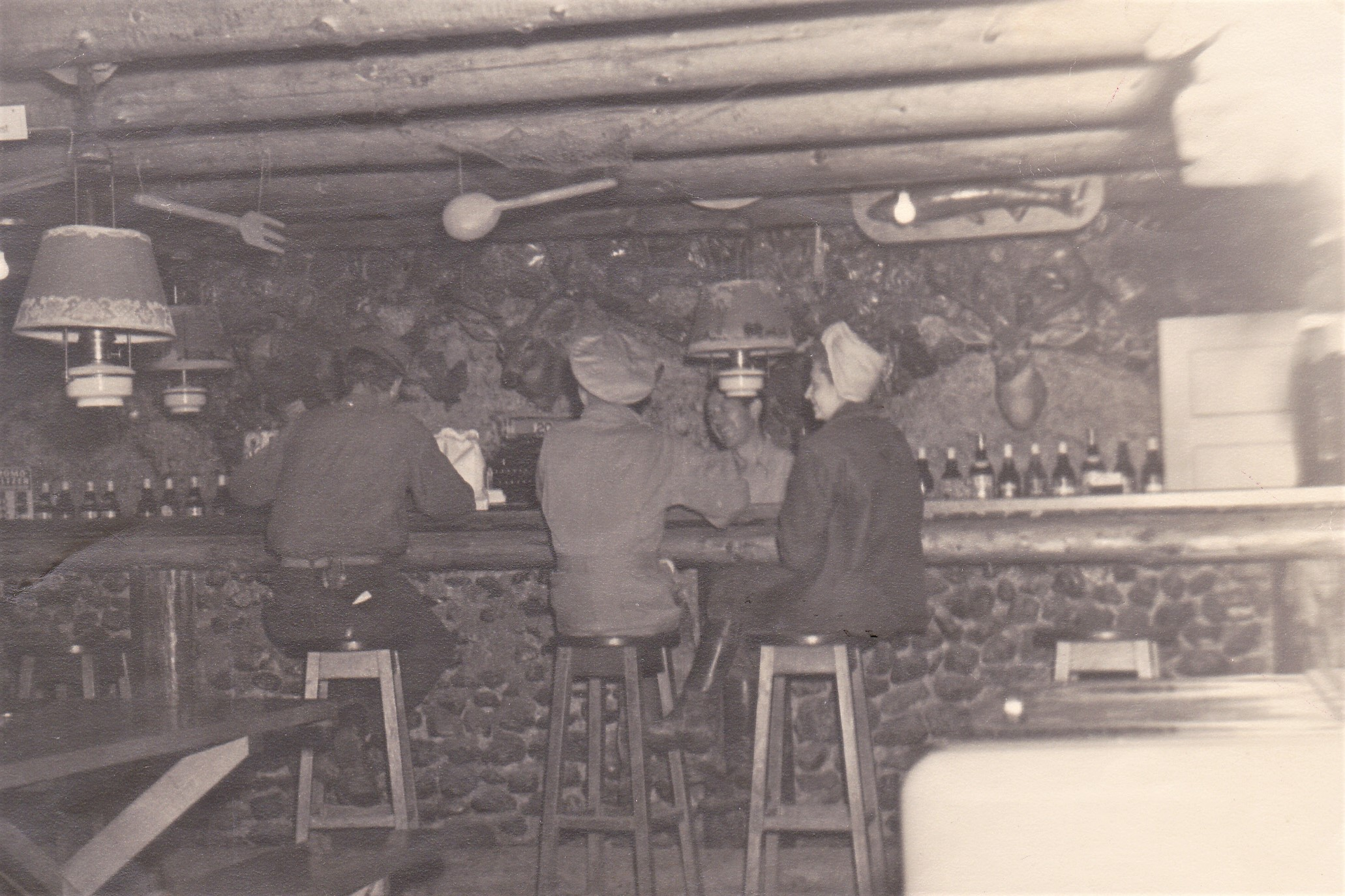 Inside River Lodge when it was a bar
