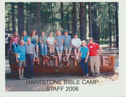 HBC 2006 Summer Staff with Director Stan