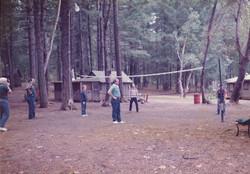Volleyball Court 1984