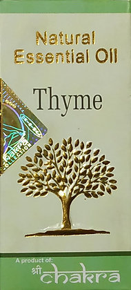 Эфирное натуральное масло Тимьян, Natural Essential Oil Thyme, 10мл